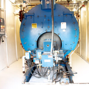 200 HP Superior Boiler with Heat Exchanger