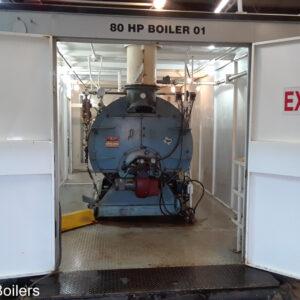 80 HP Williams and Davis Boiler  5912